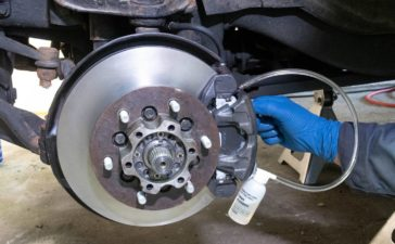 Manually Bleed brakes